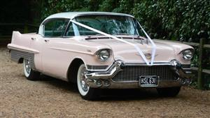 Cadillac 1957 Wedding car. Click for more information.