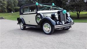 Regent Laundalette Wedding car. Click for more information.