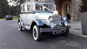 Imperial Laundalette Wedding car. Click for more information.