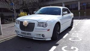 Chrysler 300C (Baby Bentley) Wedding car. Click for more information.