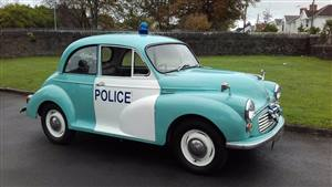 Morris Minor 1968 Wedding car. Click for more information.