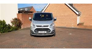 Ford  Tourneo Custom  Wedding car. Click for more information.