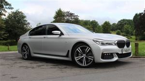 BMW 7 Series Wedding car. Click for more information.