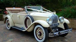 Buick 1928 Monarch Phaeton Wedding car. Click for more information.