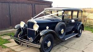 Humber 1931 16/50 Wedding car. Click for more information.