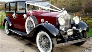Rolls Royce 1934 0/25hp Wedding car. Click for more information.