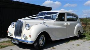 Austin Princess 1958 Vanden Plas Wedding car. Click for more information.