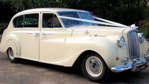 Austin Princess 1960 Vanden Plas Wedding car. Click for more information.
