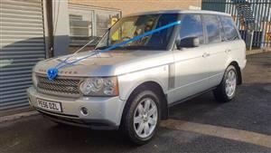 Range Rover Rover Wedding car. Click for more information.