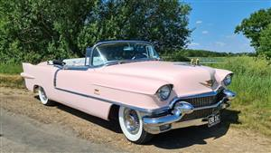 Cadillac 1956 Eldorado Biarritz Wedding car. Click for more information.