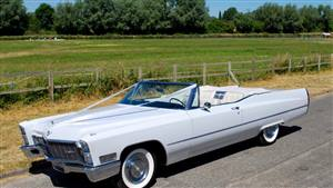 Cadillac 1968 De Ville  Wedding car. Click for more information.