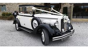 Regent  Landaulette Wedding car. Click for more information.