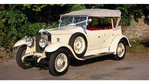 Rolls Royce 1928 20HP 4 Door Tourer Wedding car. Click for more information.