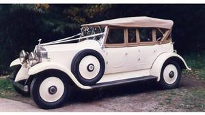 Rolls Royce 1930 20/25HP Tourer Wedding car. Click for more information.