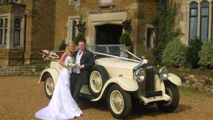 Rolls Royce 1937 25/30HP Tourer Wedding car. Click for more information.