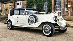 Beauford 4 Door Convertible  Wedding car. Click for more information.