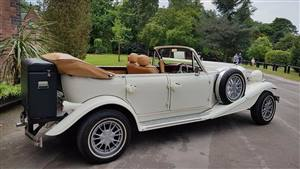 Beauford Tourer Wedding car. Click for more information.