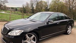 Mercedes Benz S Class Wedding car. Click for more information.