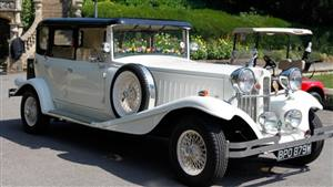 Beauford Hard top - Rebecca Wedding car. Click for more information.