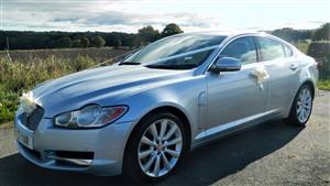 Jaguar XF-S Luxury Wedding car. Click for more information.