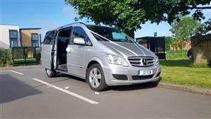 Mercedes Viano Wedding car. Click for more information.