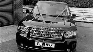 Range Rover TDV8 Vogue Wedding car. Click for more information.