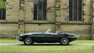 Jaguar E-Type  S2 Roadster 4.2L 1969 Wedding car. Click for more information.