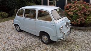 Fiat Multipla Wedding car. Click for more information.