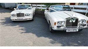 Rolls Royce & Bentley  Rolls & Bentley Limo Pair Wedding car. Click for more information.