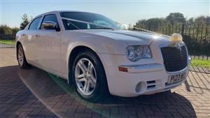 Chrysler Mercedes 300C Wedding car. Click for more information.