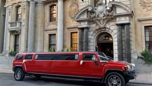 Hummer Limousine Wedding car. Click for more information.