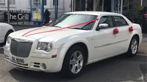 Chrysler 300C Wedding car. Click for more information.
