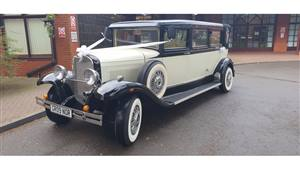 Bramwith Heritage Wedding car. Click for more information.