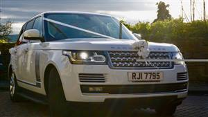 Range Rover Vogue Special Edition Wedding car. Click for more information.