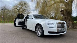 Rolls Royce Ghost II Wedding car. Click for more information.