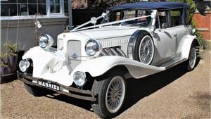 Beauford Tourer Bonnie Wedding car. Click for more information.