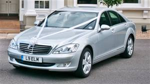 Mercedes S-Class Wedding car. Click for more information.