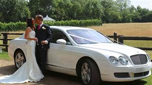 Bentley Flying Spur Wedding car. Click for more information.