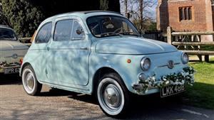Fiat Classic 500 D Wedding car. Click for more information.