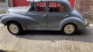 Morris Minor 1960 1000 Wedding car. Click for more information.