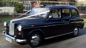 London Taxi Fairway Wedding car. Click for more information.