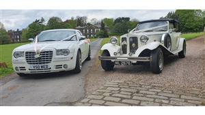 Beauford & Chrysler 300  Wedding car. Click for more information.