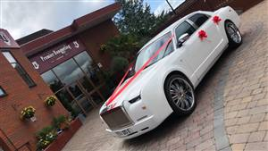 Chrysler 300c RR Replica Wedding car. Click for more information.