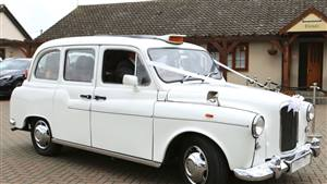 Taxi Fairway London Cab Wedding car. Click for more information.