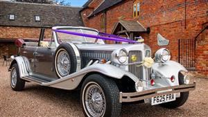 Beauford Open Tourer Wedding car. Click for more information.