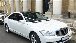 Mercedes AMG S Class Wedding car. Click for more information.