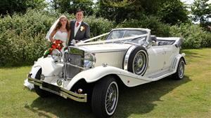 Beauford 4 Dr Tourer Wedding car. Click for more information.