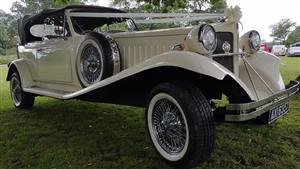 Beauford Tourer Series 3 Wedding car. Click for more information.