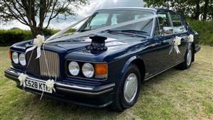 Bentley  Turbo R Wedding car. Click for more information.