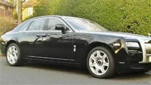 Rolls Royce  Ghost EWB Wedding car. Click for more information.